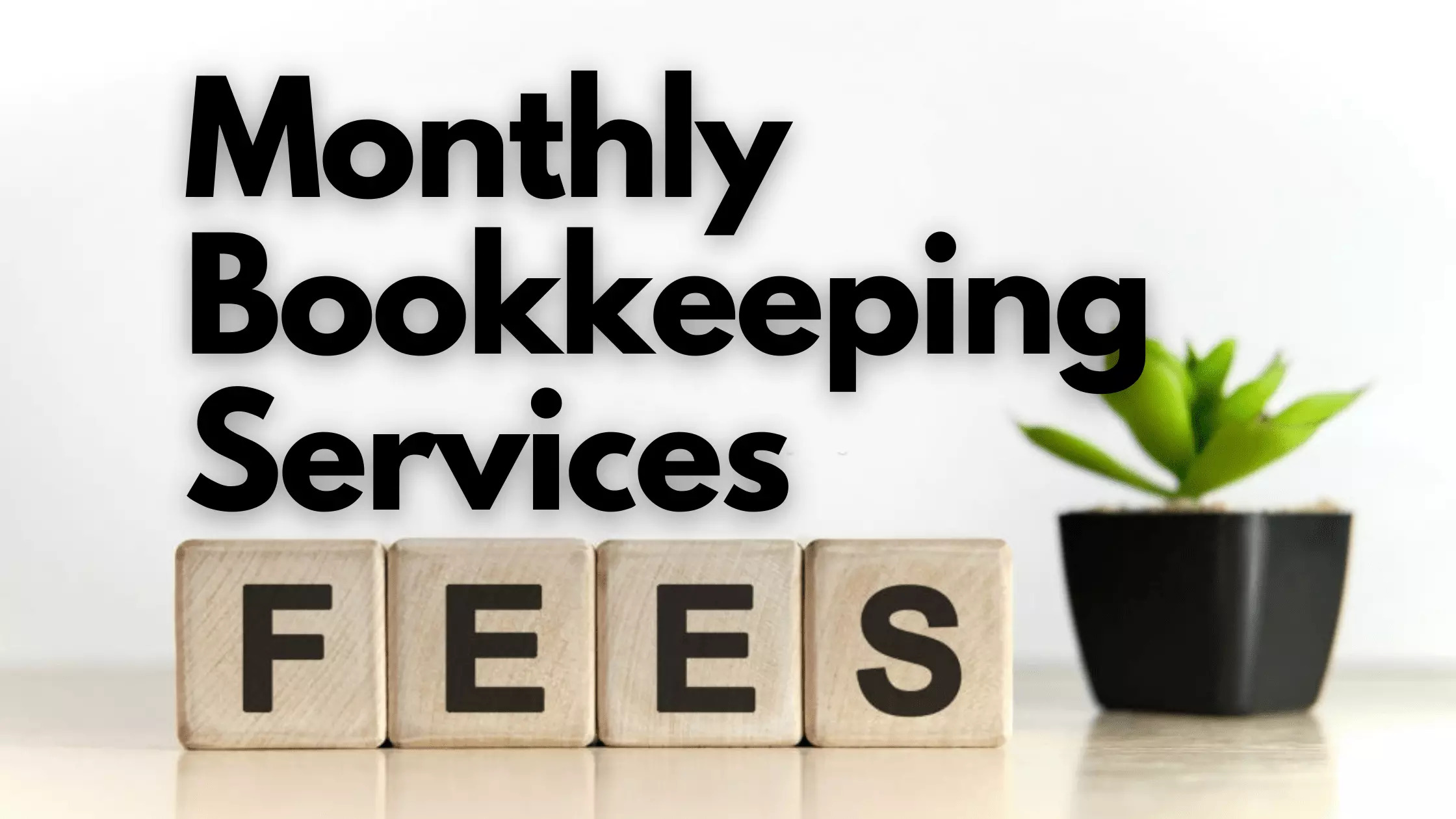 bookkeeping service fees