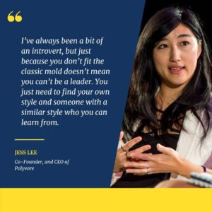 Jess Lee, Co-Founder, and CEO of Polyvore