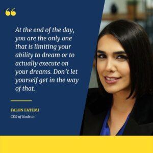 Falon Fatemi - motvational quotes for women