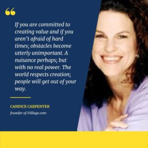 Candice Carpenter, founder of iVillage.com