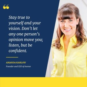 Amanda Kahlow, Founder and CEO of 6sense