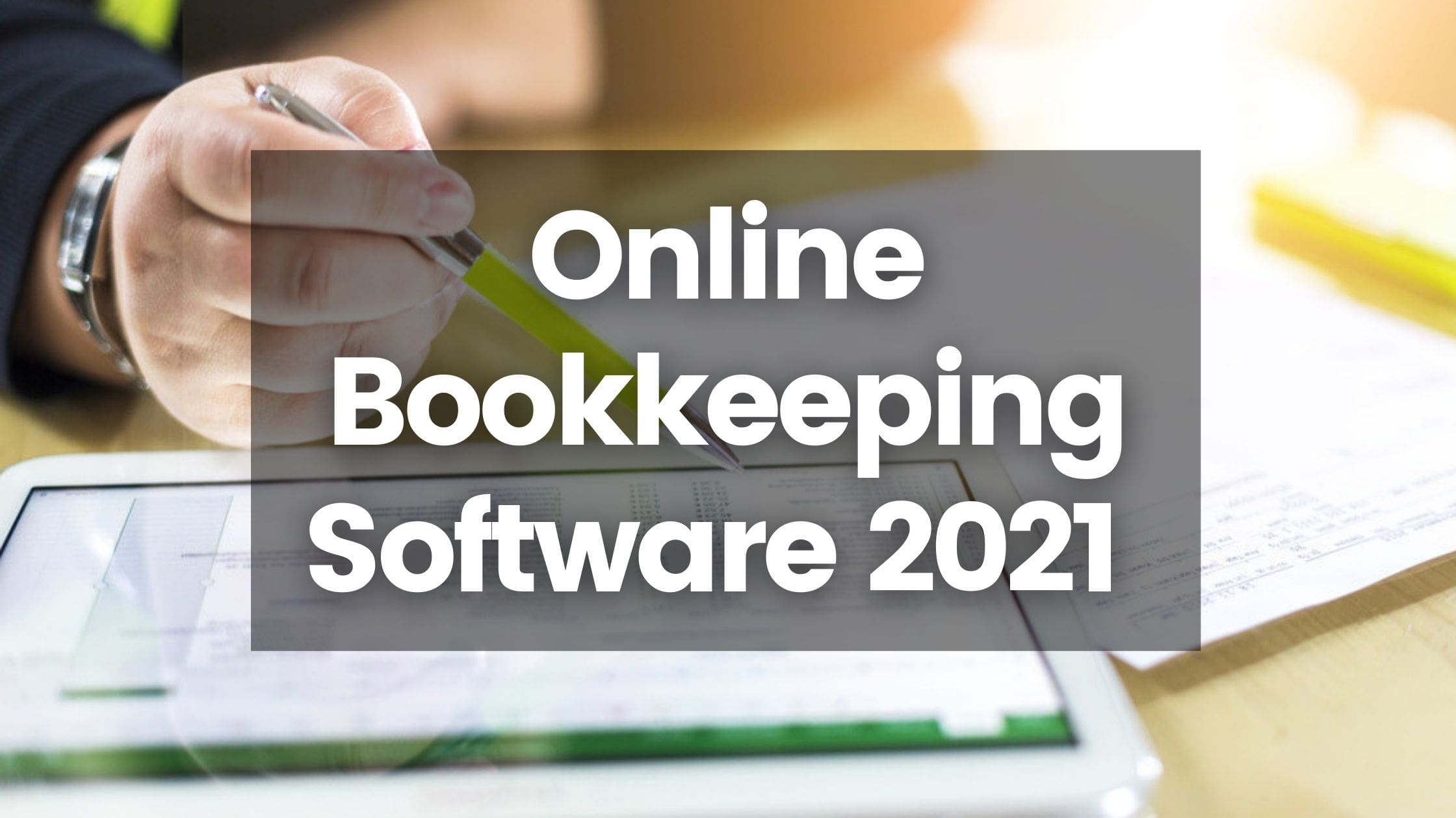 online bookkeeping software